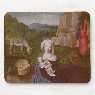 The Rest on the Flight into Egypt Mouse Mat