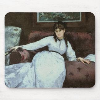 The Rest, portrait of Berthe Morisot Mouse Pad