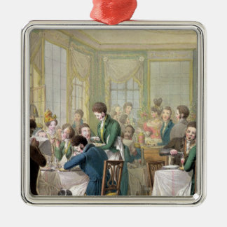 The Restaurant in the Palais Royal, 1831 Christmas Ornament