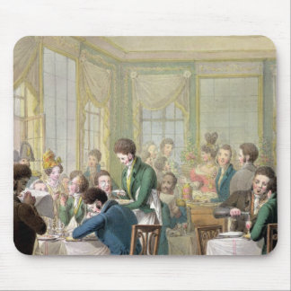 The Restaurant in the Palais Royal, 1831 Mouse Mat