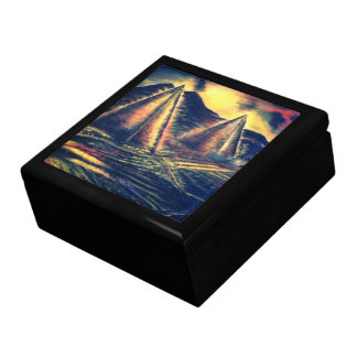 The Resting Place Large Square Gift Box