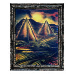 The Resting Place, Pyramids Poster