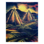 """The Resting Place"""" Pyramids Poster"""