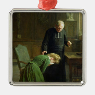 The Restitution, 1901 Christmas Ornament