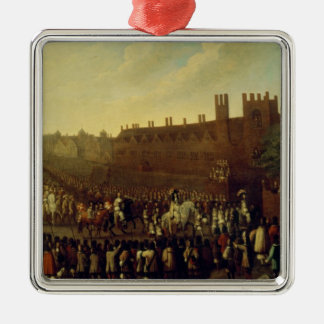 The Restoration of Charles II  at Whitehall Christmas Ornament