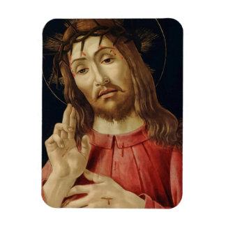 The Resurrected Christ Rectangular Photo Magnet