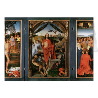 The Resurrection by Hans Memling Card