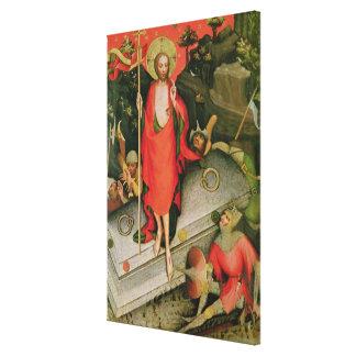 The Resurrection, c.1380 Canvas Print