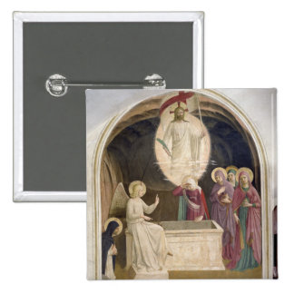 The Resurrection of Christ and the Pious Women at 15 Cm Square Badge