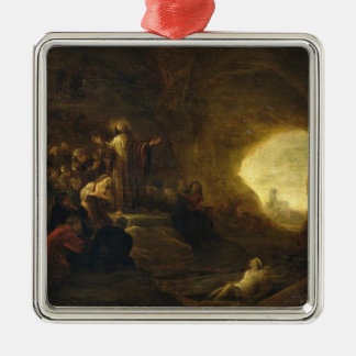 The Resurrection of Lazarus 2 Christmas Ornament