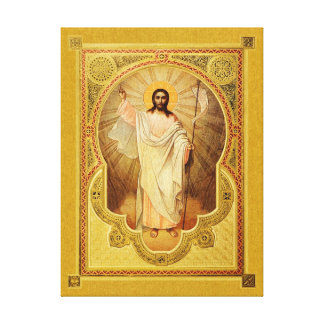 The Resurrection of Our Lord –Icon on Canvas Print