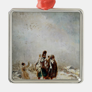 The Retreat from Russia Christmas Ornament