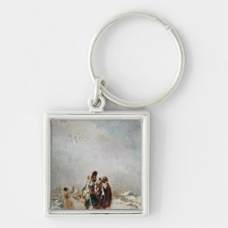 The Retreat from Russia Key Ring