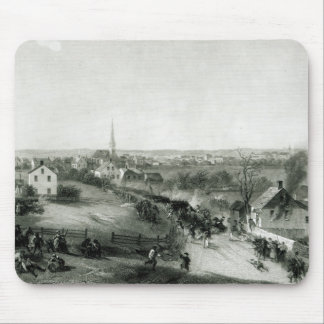The Retreat of the British from Concord Mouse Mat