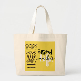 The Retro Tiki Maika'i - Good - Life Tote Bag