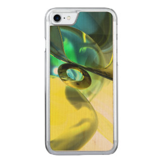 The Return Abstract Carved iPhone 8/7 Case