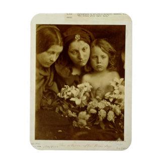 The Return after Three Days, c.1865 (sepia photo) Rectangular Photo Magnet
