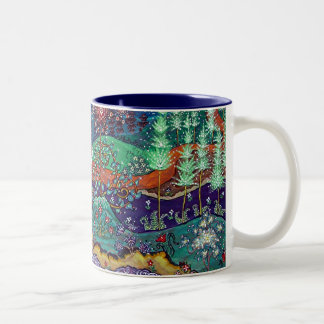 """The Return"" Blue Interior Two-Tone Coffee Mug"