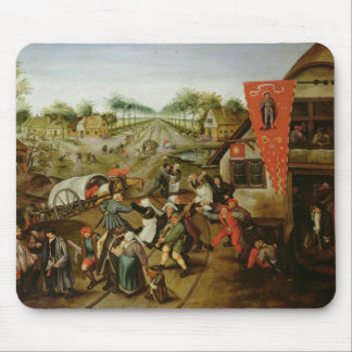 The Return from the Kermesse (oil on panel) Mouse Mat