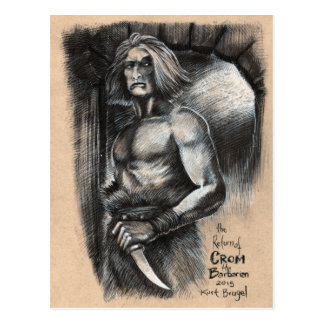 The Return of Crom the Barbarian Postcard
