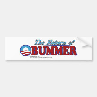 The Return of Obummer Bumper Sticker