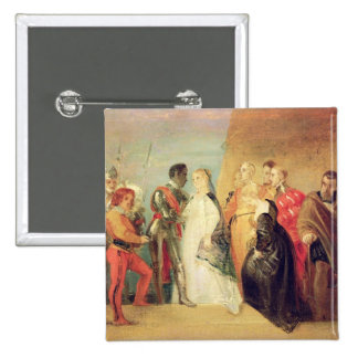 The Return of Othello, Act II, Scene ii from 'Othe 15 Cm Square Badge