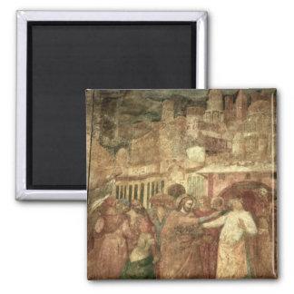 The Return of St. Ranieri, mid 14th century Magnets