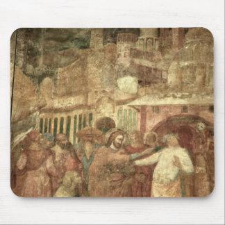 The Return of St. Ranieri, mid 14th century Mouse Mat