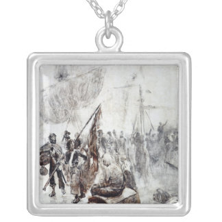The Return of the Corsairs Silver Plated Necklace