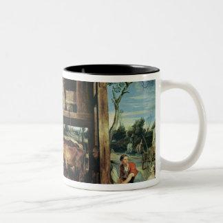 The Return of the Prodigal Son, c.1618 Two-Tone Coffee Mug