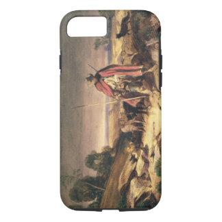 The Return of the Shepherd (pen & brown ink, w/c & iPhone 8/7 Case