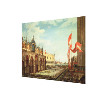 The Return of the St. Mark Troops to Venice Canvas Print