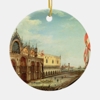 The Return of the St. Mark Troops to Venice Christmas Ornament