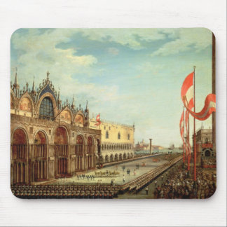 The Return of the St. Mark Troops to Venice Mouse Mat