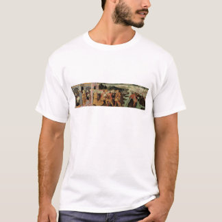 The Return of Ulysses, cassone panel, Sienese T-Shirt