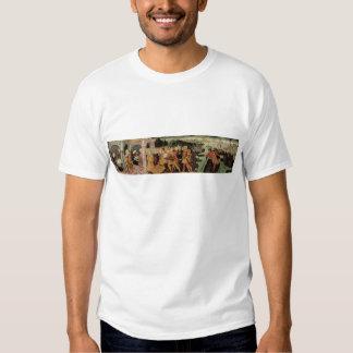 The Return of Ulysses, cassone panel, Sienese Tee Shirt