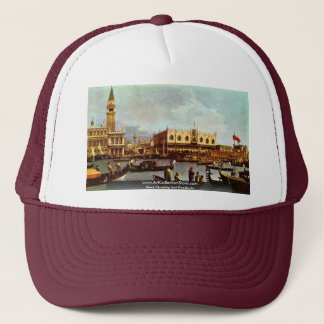 "The Return Of Venice ""Bucentaurus"" """" By Canaletto Trucker Hat"