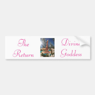 """""""The Return"""": Prime Creator Bumper Sticker"""
