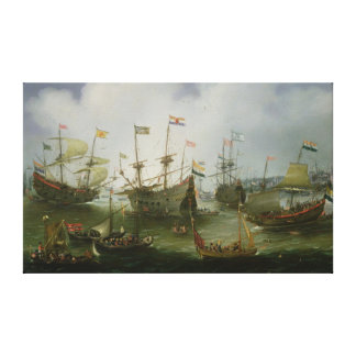 The Return to Amsterdam Canvas Print