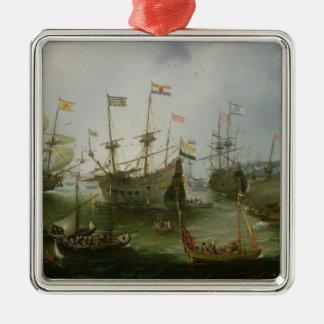 The Return to Amsterdam Christmas Ornament