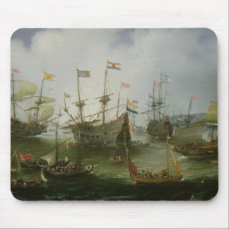 The Return to Amsterdam Mouse Mat