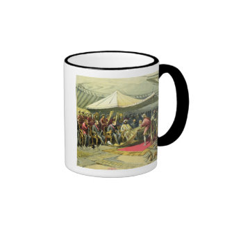 The Return Visit of the Viceroy to the Maharajah o Ringer Mug