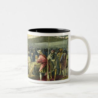 The Return Visit of the Viceroy to the Maharajah o Two-Tone Coffee Mug