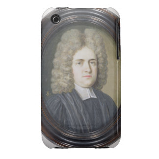 The Reverend Dr. Harris (w/c and gouache over grap iPhone 3 Case