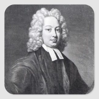 The Reverend Thomas Parnell, 1771 Square Sticker