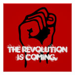 The Revolution is Coming. Poster