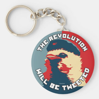 The Revolution will be Tweeted Keychains