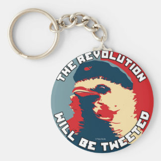 The Revolution will be Tweeted Key Chain