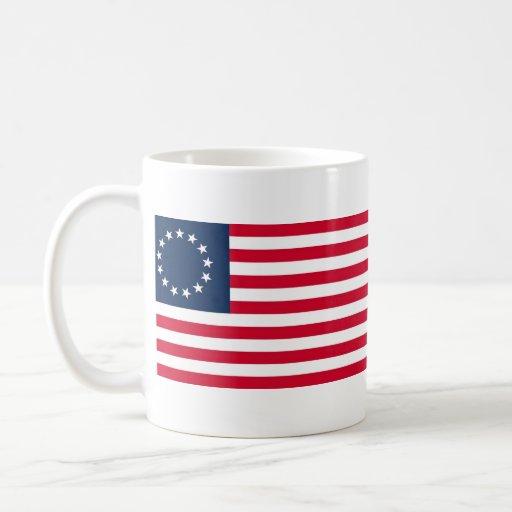 The Revolutionary War Betsy Ross Flag Coffee Mug