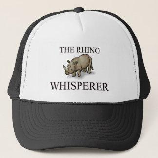 The Rhino Whisperer Trucker Hat